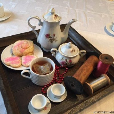 Valentine's Day Tea Party Feature