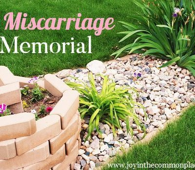 A Miscarriage Memorial