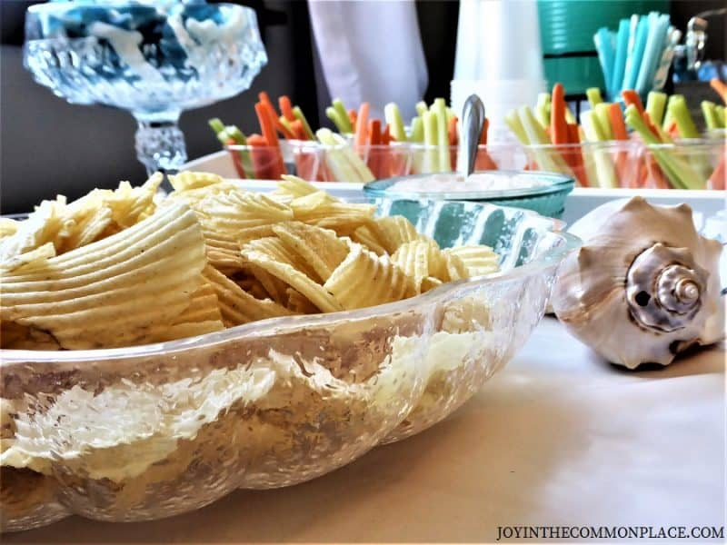 Nautical Mermaid Birthday Party