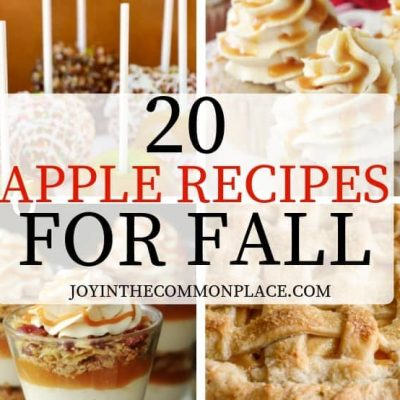 20 Apple Recipes for Fall Entertaining