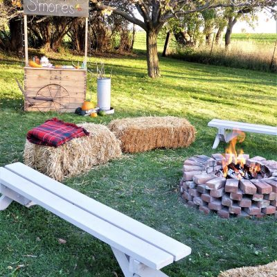 Backyard Fall Harvest Party