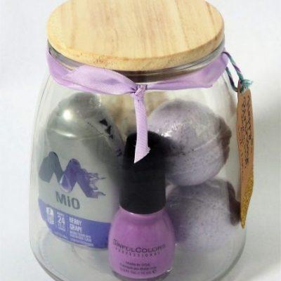 Purple Themed Jar