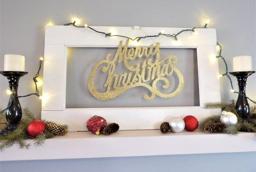 Christmas Wall Shelf