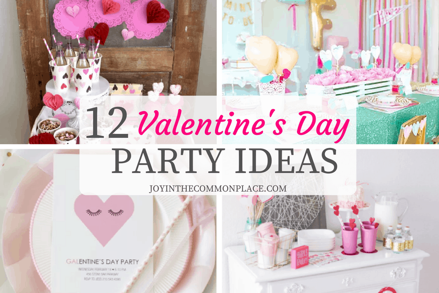 12 valentine's day party ideas