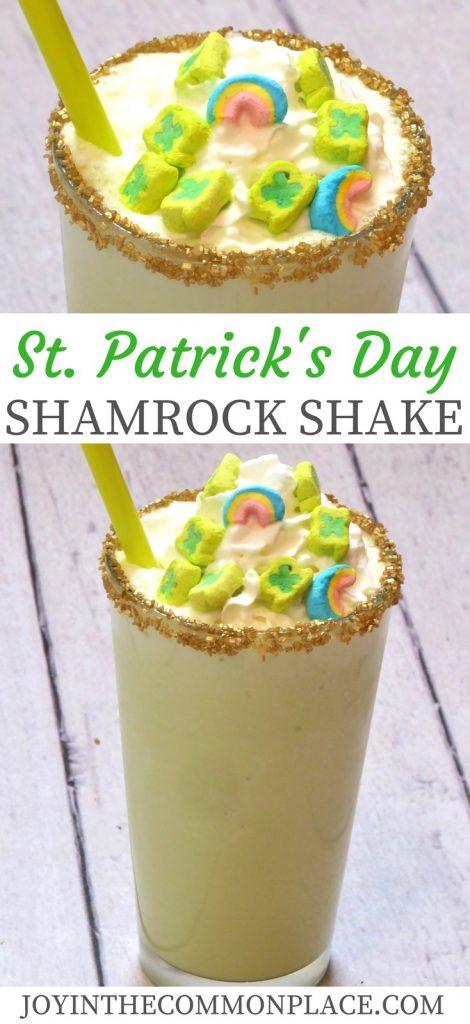 St. Patrick's Day Shamrock Shake