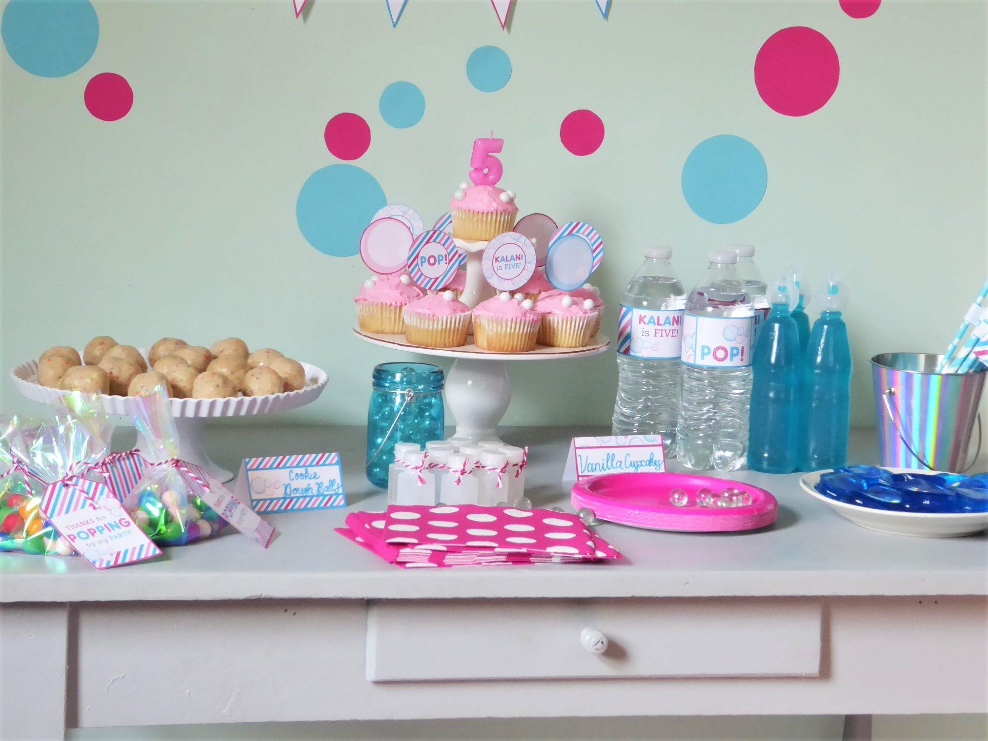 Bubbles Party Ideas