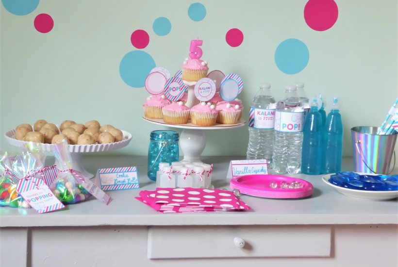 Bubbles Party Ideas