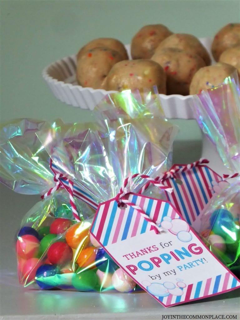 Bubbles Birthday Party Ideas