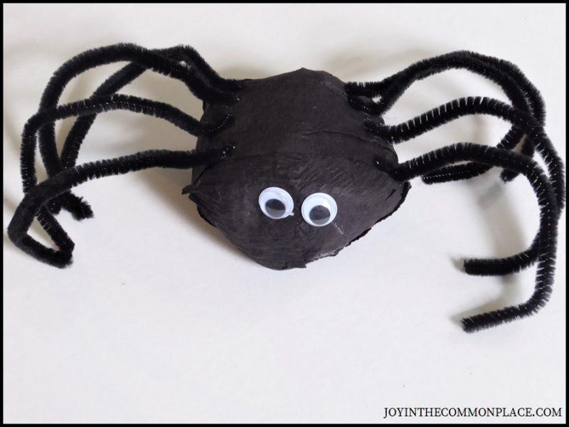 Step 10 - DIY Spider Surprise Ball