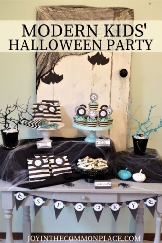 Modern Kids' Halloween Party