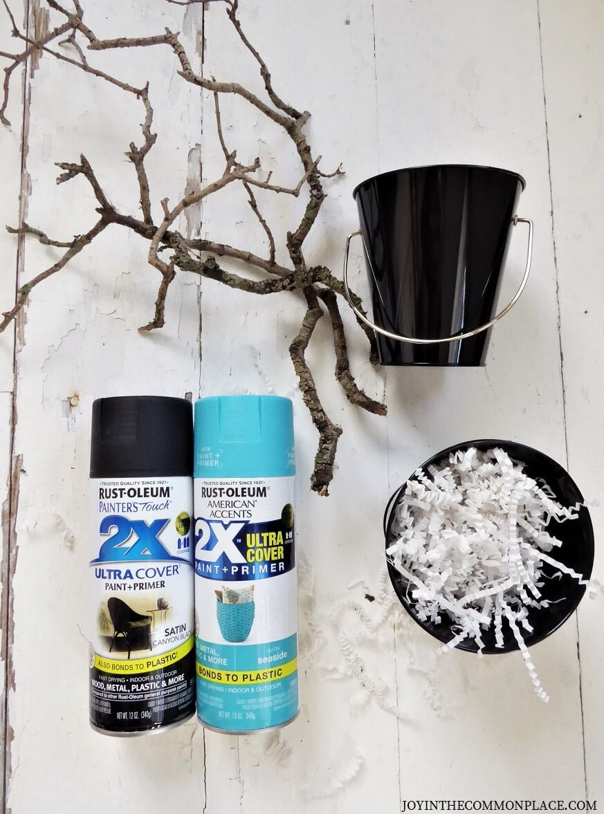 DIY Spooky Halloween Tree Branches