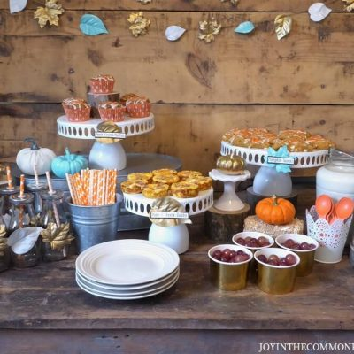 Host a Rustic Fall Breakfast Bar!