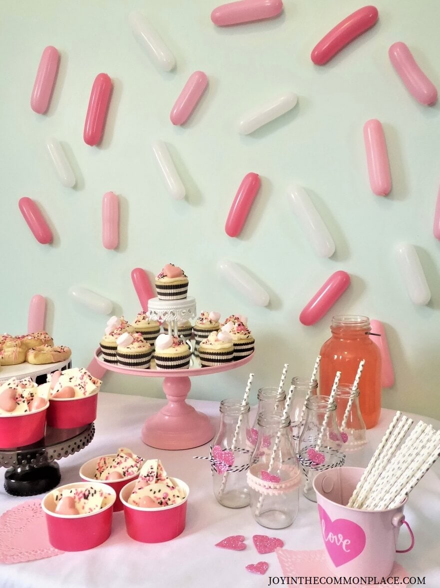 Sprinkled with Love Valentine's Day Party