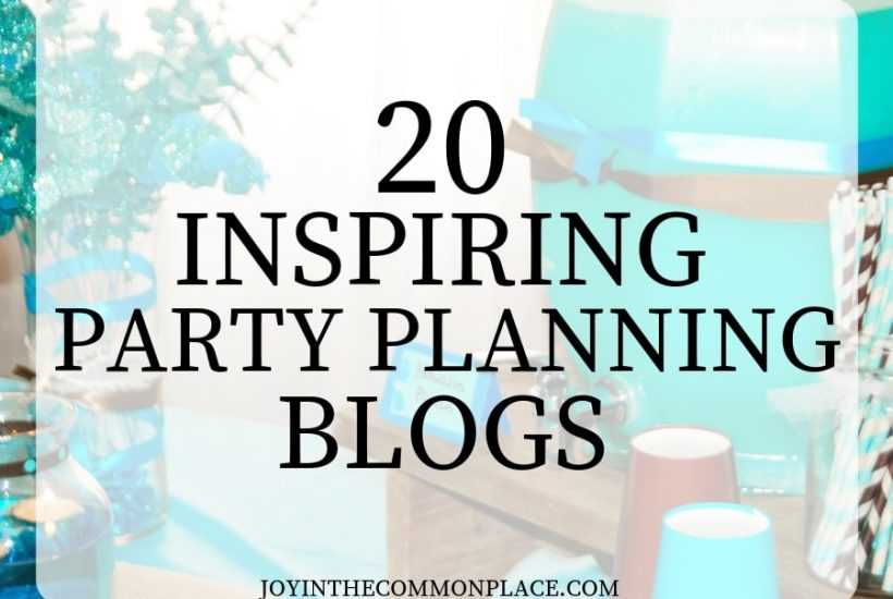 20 Inspiring Party Planning Blogs