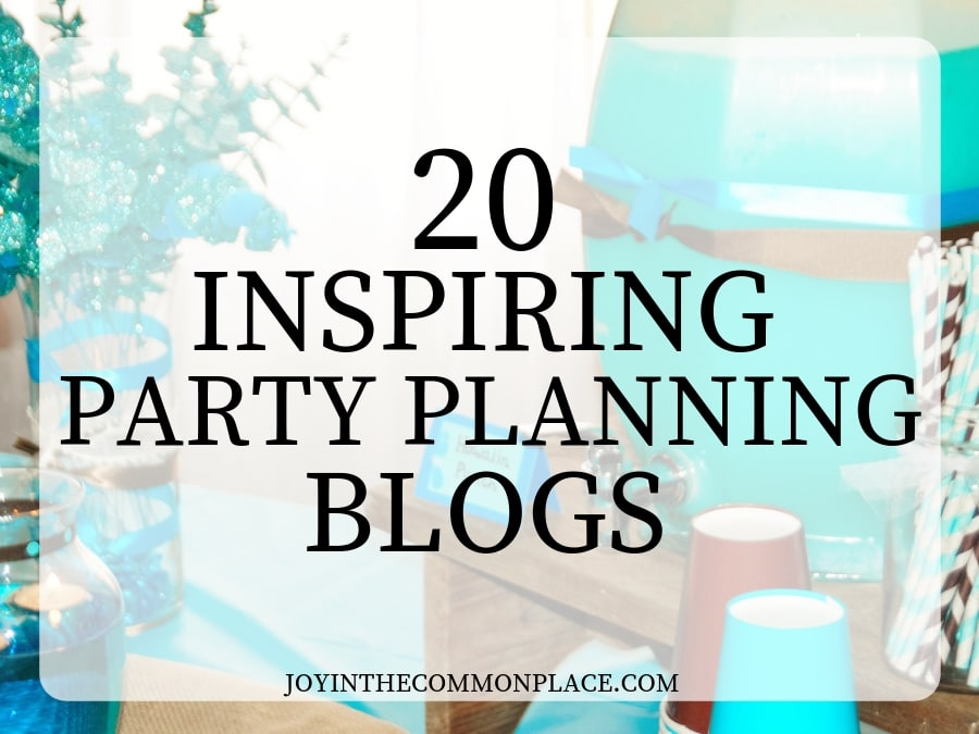 20 Inspiring Party Planning Blogs