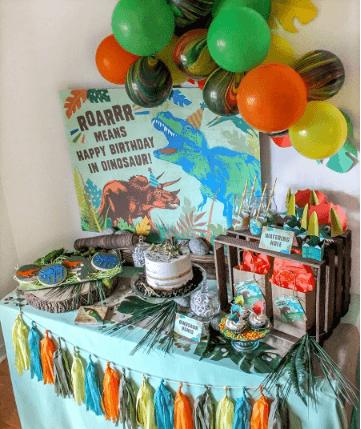 A Dinomite Dinosaur Birthday Party