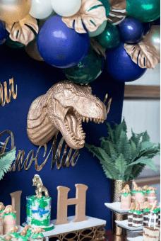 Dinosaur Bridal Shower
