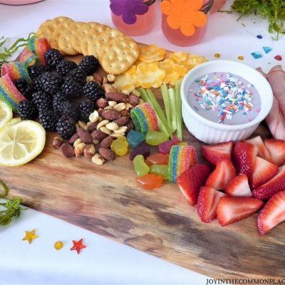 Trolls Inspired Snack Board