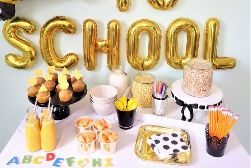 Back to School Breakfast Party