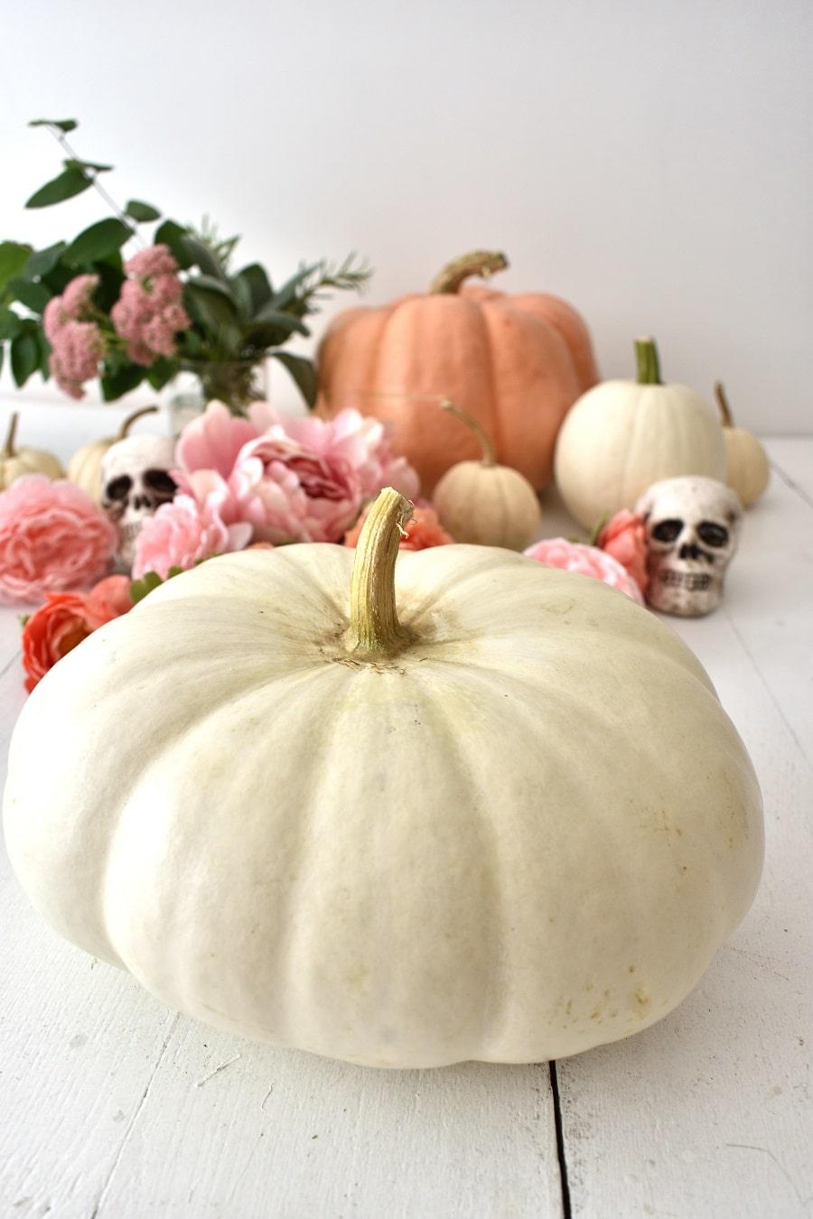 Boos & Blooms Halloween Centerpiece
