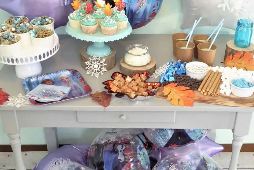Disney Frozen 2 Party & Hot Chocolate Station