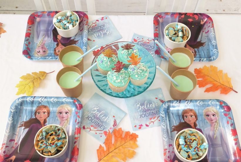 Frozen 2 Party and Hot Chocolate Bar Feature