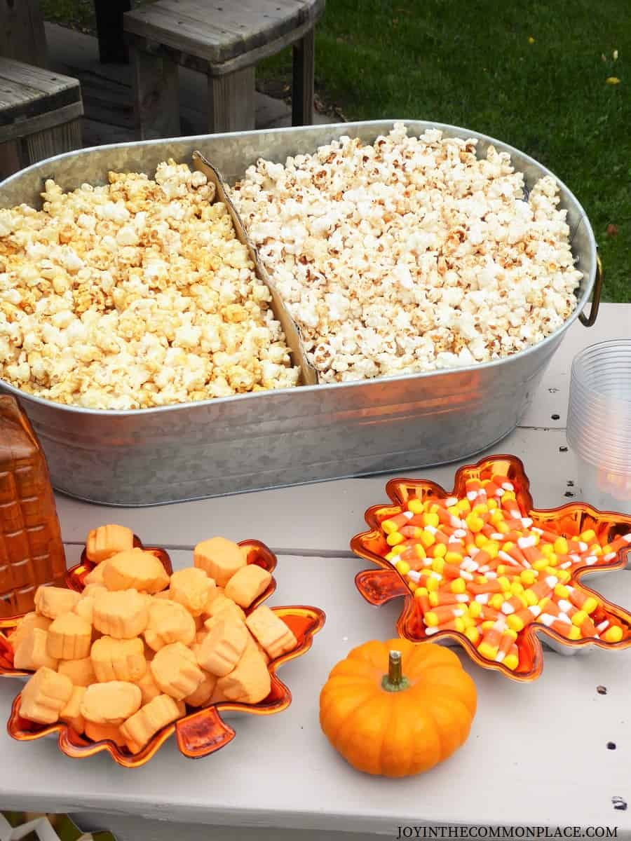 Pumpkin Spice Kettle Corn Recipe