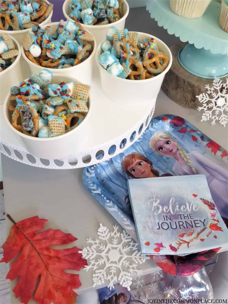 Host a Disney Frozen Party and Hot Chocolate Station