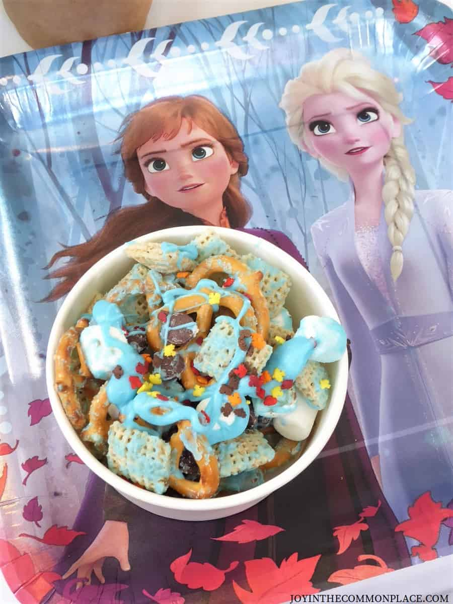 Frozen 2 Sweet Chex Mix Recipe