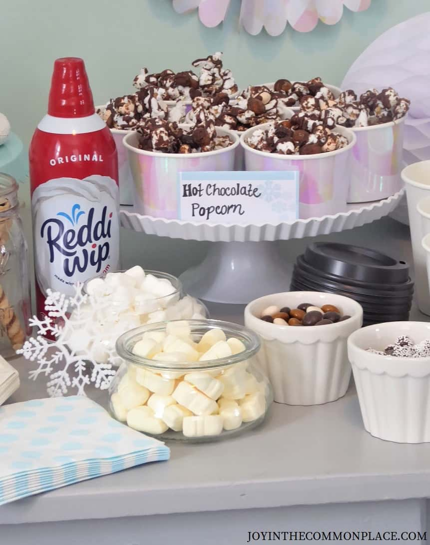 Hot Chocolate Popcorn Recipe