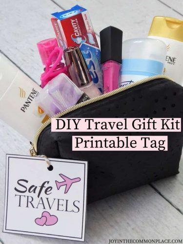 DIY Travel Gift Kit with Printable Tag