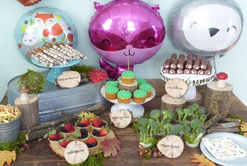 Host a Woodland Animals Birthday Party