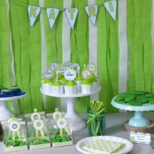 Frog Themed Birthday Party