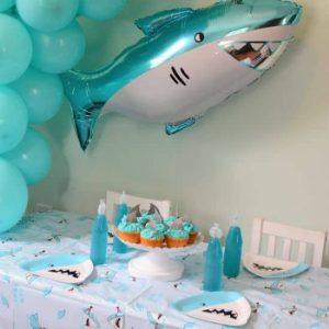 Throw an Easy Shark Birthday Party!