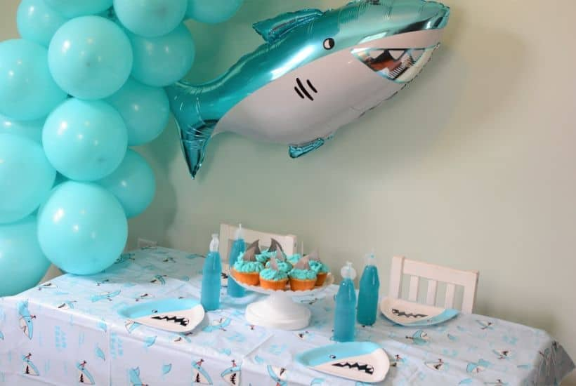 Throw an Easy Shark Birthday Party!