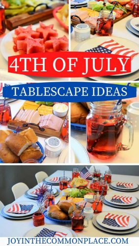 4th of July Tablescape Ideas