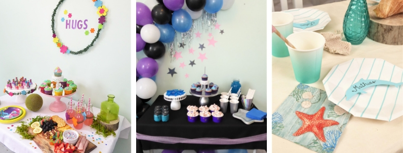 Parties collage