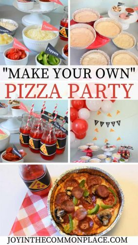 Host a Make Your Own Pizza Party