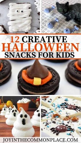 12 Creative Halloween Snacks for Kids