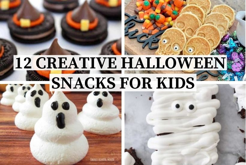 12 Creative Halloween Snacks for Kids