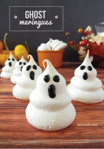 Ghost Meringues from Smart Schoolhouse