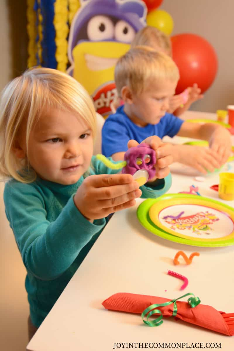 Host a Play-Doh Themed Play Date for Kids