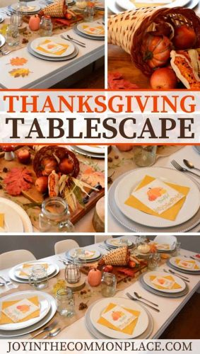 Style a Rustic Thanksgiving Tablescape