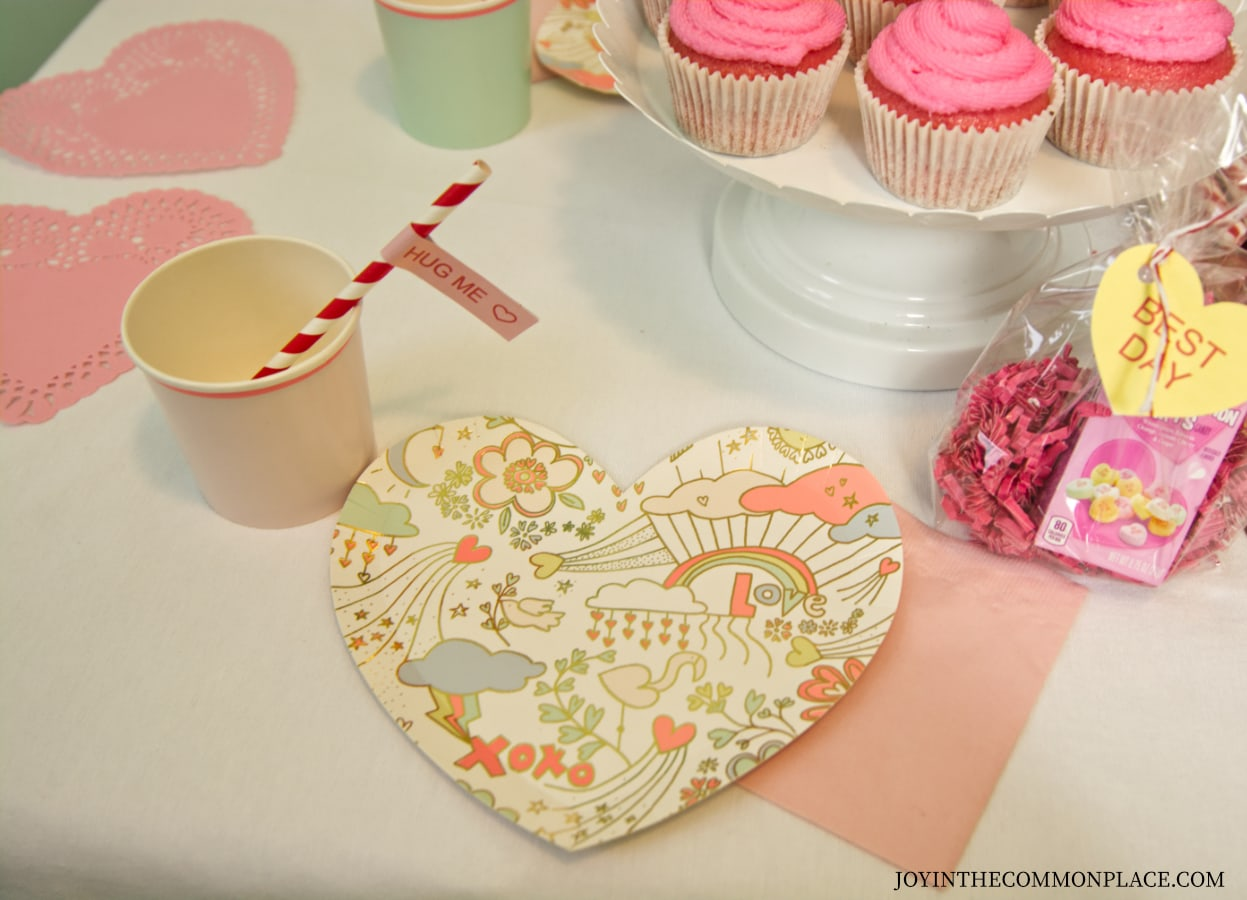 Conversation Heart Valentine's Day Party