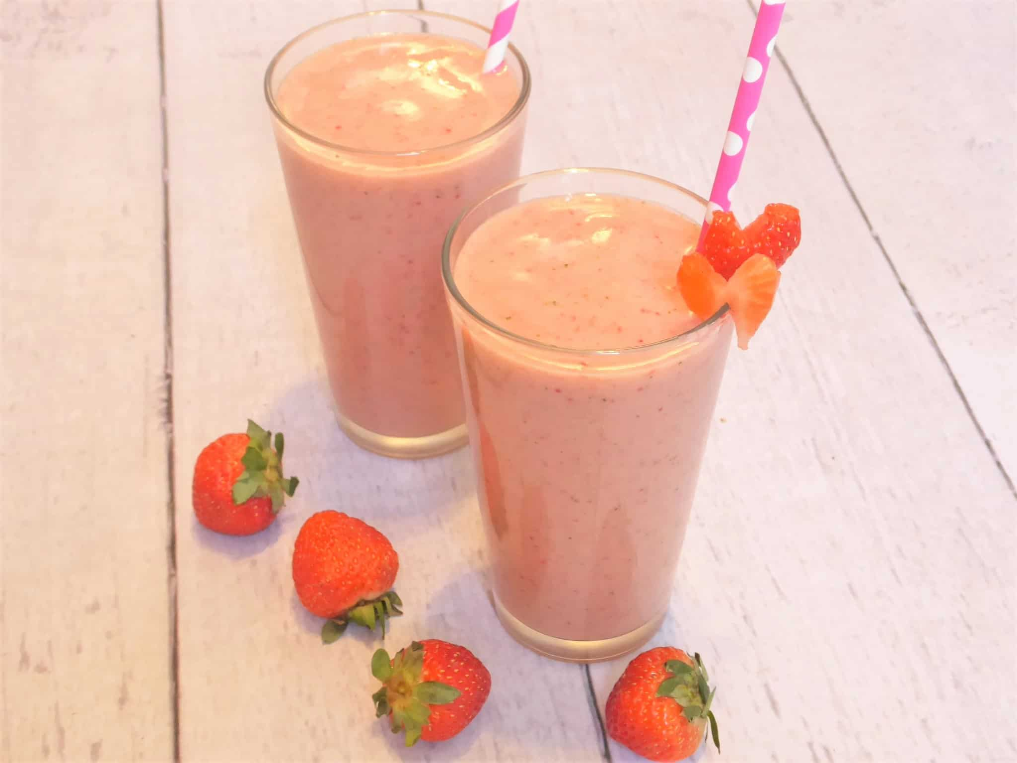 Strawberry Banana Smoothie Recipe