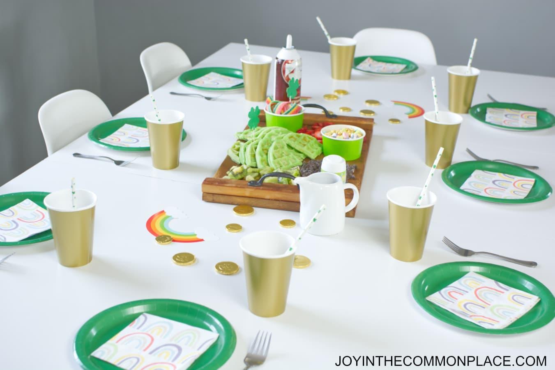 St. Patrick's Day Breakfast for Kids!